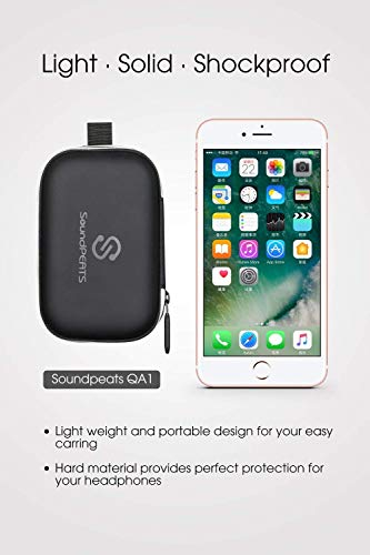 SoundPEATS Charging Case for Bluetooth Headphones Wireless Earphones  Portable Battery Charger Case Rechargeable Protective Carrying Case Power  Bank