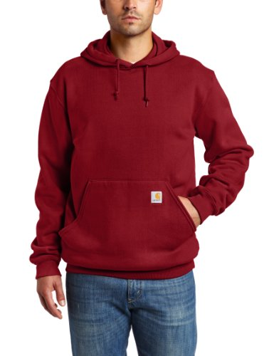 Carhartt Men's Big & Tall Mid-Weight Zip-Front Original Fit Hoodie K122