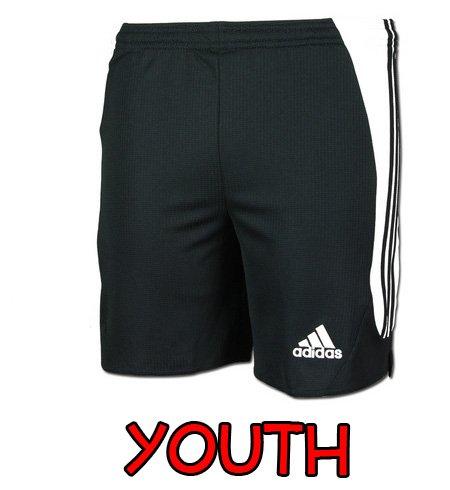 Adidas Big Boys' Youth Nova Short, Black/White, X-Large