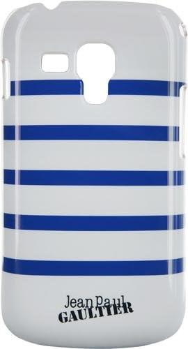 Jean Paul Gaultier - Carcasa para Samsung Galaxy Trend S7560, diseño Marinero, Color Blanco y Azul: Amazon.es: Electrónica