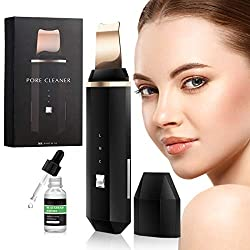 【3 Functional Modes】 Deep cleansing,Through Ultrasonic high-frequency vibration to quickly deeply remove blackhead acne dead skin oil and makeup dirt etc. Make your skin be cleaner and smooth. Leading-in nutrition ,Iontophoresis, helps to remove aged...