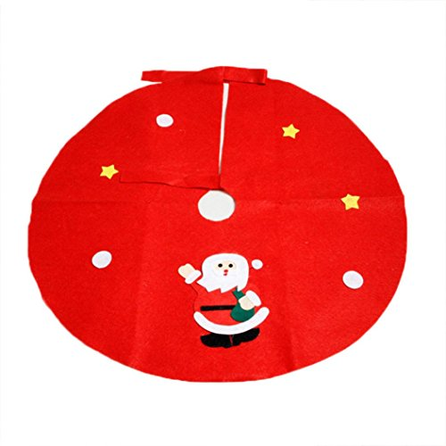 [2016 Christmas Tree Skirts!Elevin(TM)Hot Sale Christmas Non-woven Christmas Tree Santa Claus Snowman Skirts Party Decoration Supplies (M,] (Costume Puppet Strings)