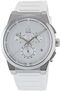 Calvin Klein K2S371L6 - Reloj Analógico Para Mujer, color Gris/Blanco