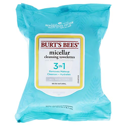 Burt's Bees Micellar Cleansing Towelettessex 30 Piece Towelettes, 30 Count