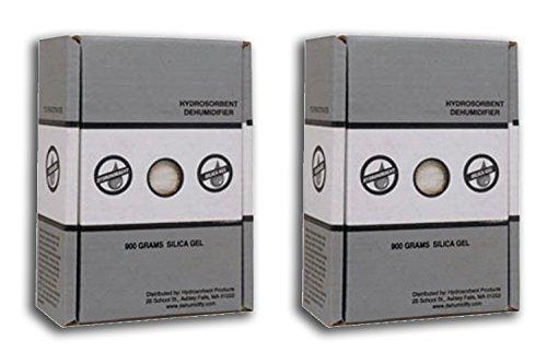 900 Gram Silica Gel Carton - 2 Pack - Aluminum Drawer Unit