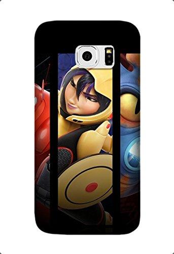 Custom Big Hero 6 Movie Phone Case Laser Technology for Samsung Galaxy S6 Edge Design By [Ashley Thompson]