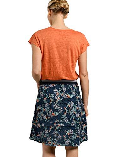 T Zz0sxw5q De Lin Orange Misaine En Marin Style Mat Shirt Femme f6gYb7yv