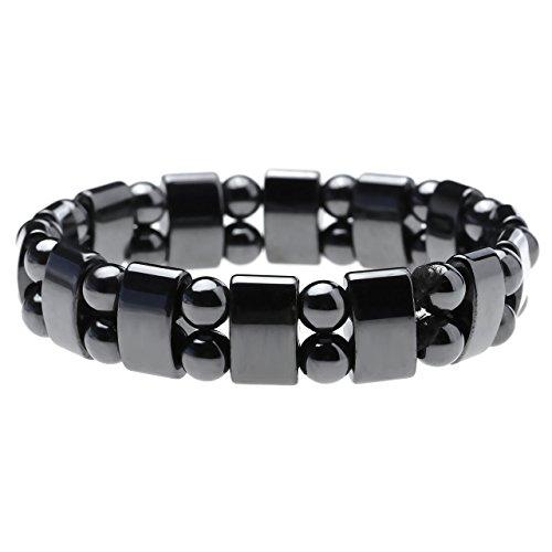 Top Plaza Hematite Bracelet Bracelets