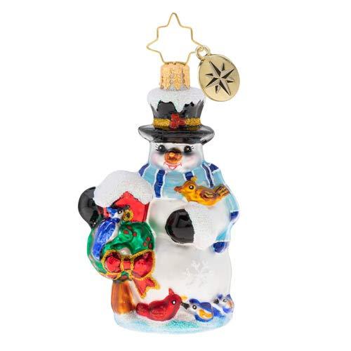 (Christopher Radko Snowbird Sanctuary Gem Christmas Ornament, 3.500, Multicolor)