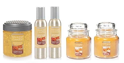 Yankee Candle Honeycrisp Apple Cider Set- Room Spray, Candle, Fragrance Spheres by Yankee Candle (Image #1)