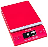 Accuteck DreamRed 86 Lbs Digital Postal Scale Shipping Scale Postage With USB&AC Adapter, Limited Edition