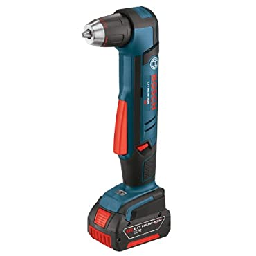 Bosch ADS181-101 18-Volt Lithium-Ion 1/2 Right Angle Drill Kit with High Capacity Battery, Charger and Case