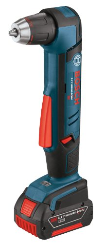 Bosch ADS181-101 18-Volt Lithium-Ion 1/2-Inch Right Angle Drill Kit with High Capacity Battery, Charger and Case