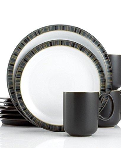 Denby Jet Stripes - Denby Dinnerware, Jet Stripes 12 Pie Stripes