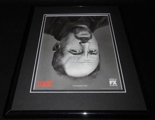 Louie 2015 FX Framed 11x14 ORIGINAL Advertisement Louis CK