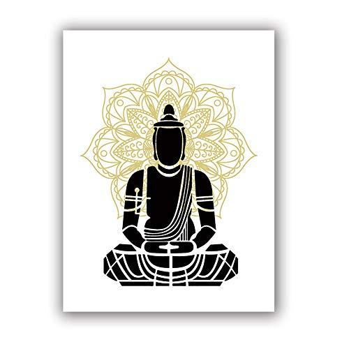 Buddha Art Print Set of 1 (12