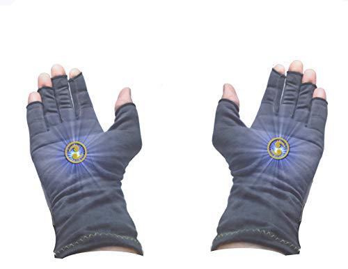 Energy Chi Multiplier Enhancer Gloves with Inner Pouch For Energy Work Healing Reiki ()