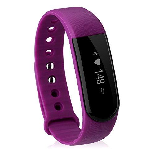 Diggro ID101 - Pulsera Deportiva Inteligente Bluetooth (Impermeable IP67, Ritmo Cardiaco, Podómetro, Recordatorio Llamada SMS, Recordatorio Sedentaria, ...