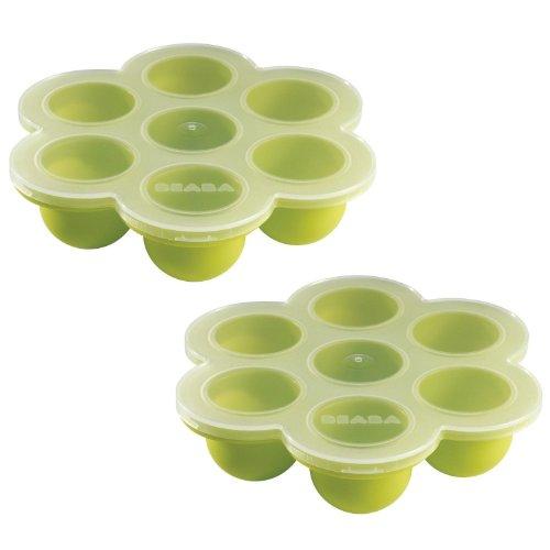 Beaba Multiportions Freezer Trays, Set fo 2 - Green
