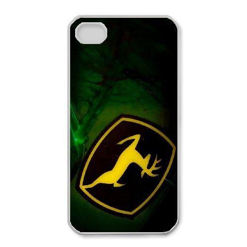 iPhone 4,4S Phone Case White John Deere QY7997303