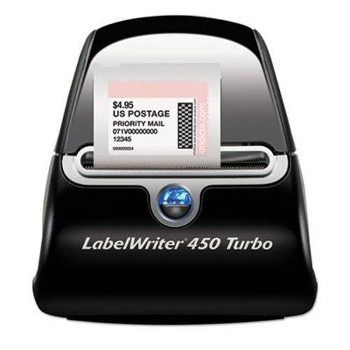 DYMO 1752265 LabelWriter Turbo Printer, 71 Label/Min, 5w x 7 2/5d x 5 1/2h (Dymo Office File Software)