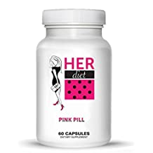 HERdiet Weight Loss Pills 60 Pink Capsules for Women Appetite Control and Increased Energy