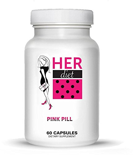 Pink Pill (HERdiet Weight Loss Pills 60 Pink Capsules for Women Appetite Control and Increased Energy)