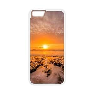 Dreamy Sunset IPhone 6 Plus Cases, Luxury Case Iphone 6 Plus Case Mens Designer Okaycosama - White