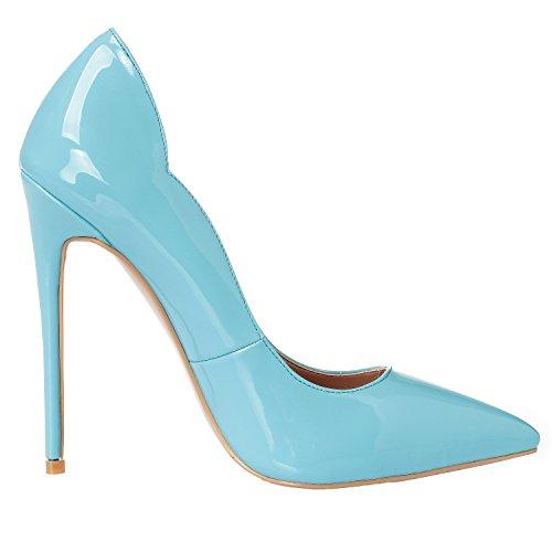 5 Clair ZAPROMA Bleu Bleu 39 ARC Femme Escarpins 01 qR8gqF