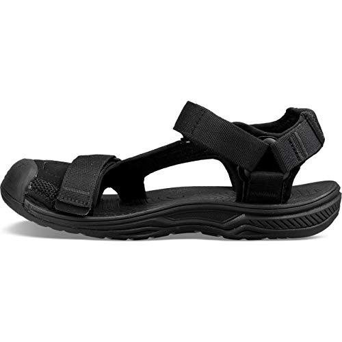 2 Pro Toe Sandals Teva Black Hurricane TFqZAw18x8