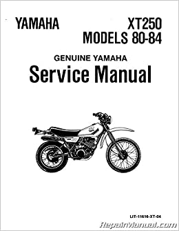 Incredible Lit 11616 Xt 04 1980 1984 Yamaha Xt250 Motorcycle Service Camellatalisay Diy Chair Ideas Camellatalisaycom
