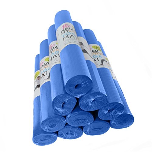 Hello Fit The Kid's Short Yoga Mat  - 10 Pack