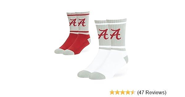 For Bare Feet NCAA MensMoney Ankle Socks-3 Pack-Clemson Tigers