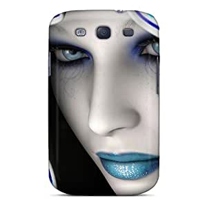 Best Cell-phone Hard Cover For Samsung Galaxy S3 With Provide Private Custom HD Digital Art Image TrevorBahri