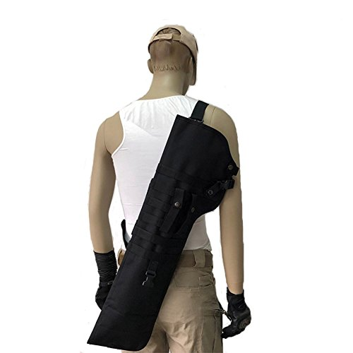 Qjoy Hunting Scabbard Protective Cover Shoulder Carry Sling Bag Shooting Tool Holster Case for Outdoor by Qjoy (Image #7)