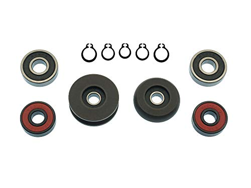 (Sliding Door Roller Bearing Replacement Bundle for Volkswagen Vanagon)