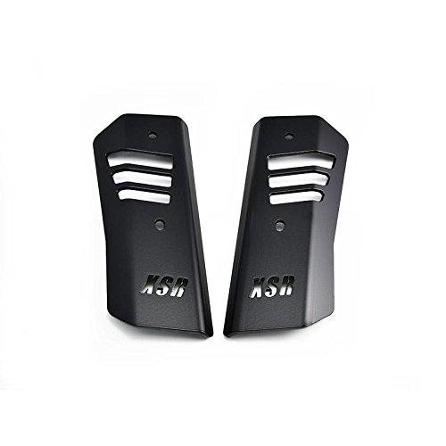 Griglia di protezione per radiatore, con logo e rivestimento di colore nero IBEX