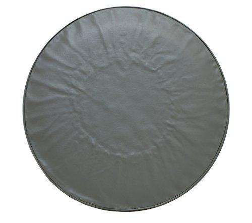 1clickautoacc Spare Tire Cover Heavy Duty Gray Vinyl 27