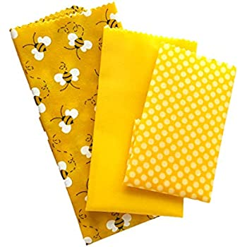 Amazon.com: Beeswax wrap by Lush Eco Home, Eco Friendly ...