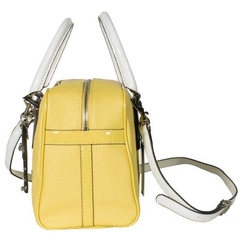 Guess Shopper Schultertasche Tasche Leandra Gelb #GU096A