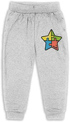 Soft Cozy Boys /& Girls Jogger Play Pant Udyi/&Jln-97 Autism 3 Unisex Baby Pants