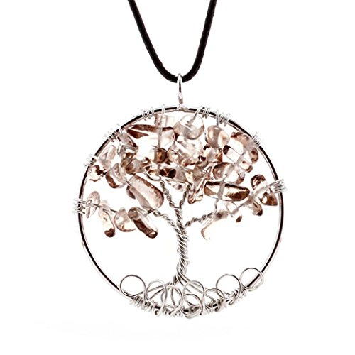 Western Costumes Company Ruby Slippers (Dream Alice DA-XL563-brown Tree Of Life Pendant Necklace Handmade Necklace (Brown))