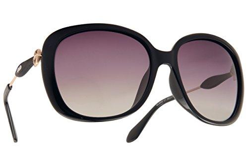 KALLA Asian Fit Polarized Sunglasses - - Fit Sunglasses Asian