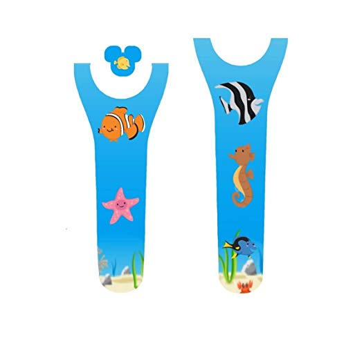 Vinyl Skin Decal Wrap Sticker Cover for the MagicBand 2 Magic Band 2 Finding Fish Under The Sea