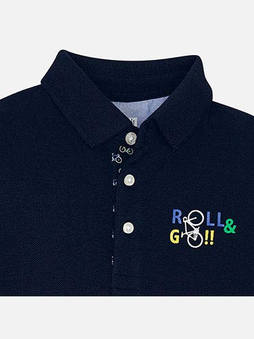 Mayoral S//s Graphic Polo for Boys 3113 Overseas