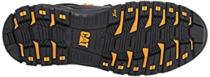 Caterpillar Women's Propulsion Waterproof CT Construction Boot Black 5 W US (Color: Black, Tamaño: 5 Wide)