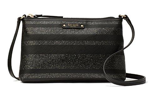 Handbag Crossbody WKRU4780 Lane Stripe Black Ramey New York Haven Spade Glitter Kate wx8Y0q7p6p