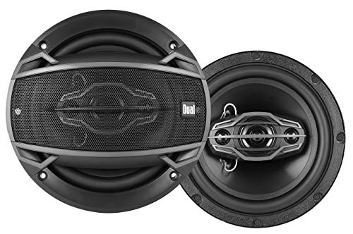Dual DS465 4-Way 6 ½ inch Car Speakers with 160-Watt Power & 35mm Mylar Balanced Dome Midrange