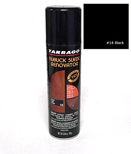 TARRAGO Suede & Nubuck Re Color Dye Nourishing Spray Can 6.49 oz, Black