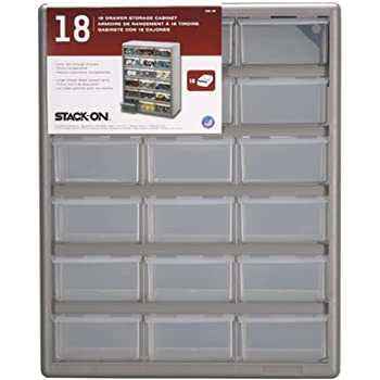 Stack On DS 18 18 Drawer Storage Cabinet